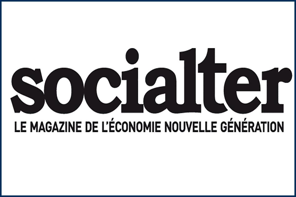 Logo de socialter, le magazine de l'économie nouvelle génération